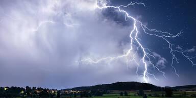 Gewitter-Alarm: Hier kann es heute noch krachen