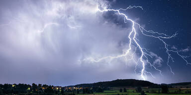 Hier muss man jetzt mit heftigen Gewittern rechnen