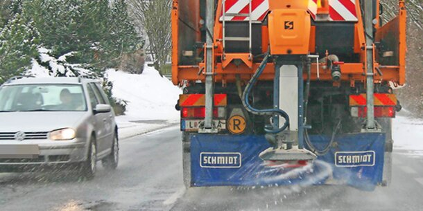 Glatteis-Gefahr: Höhenstraße wieder befahrbar