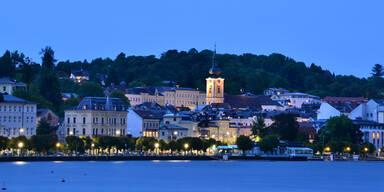Urlauber-Andrang: Gmunden sperrt Touristen aus