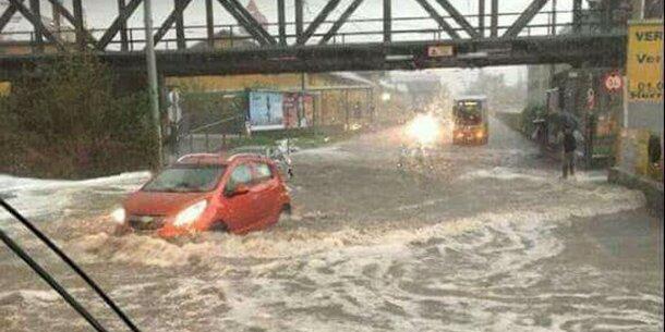 Nach Starkregen: Südbahnstrecke gesperrt