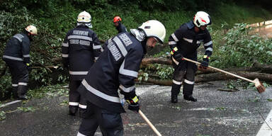 Steiermark: Unwetter im Bezirk Graz-Umgebung