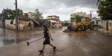 Griechenland Überschwemmungen