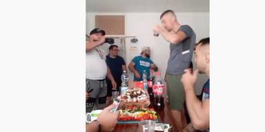 Skandal-Video zeigt Häftlinge beim Feiern