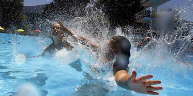 Wetter Sommer Schwimmen