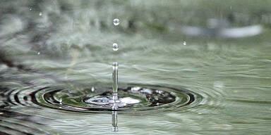 Wasser Regen Unwetter Tropfen