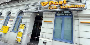 Postamt Wien-Favoriten 3x überfallen