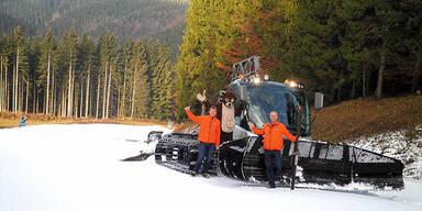 Skigebiet Eibenkogl mit Holzinger Öts