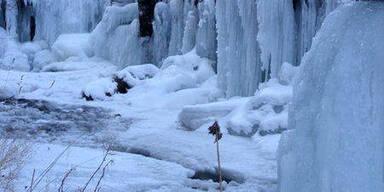 Schneelandschaft bei St. Veit an der Glan