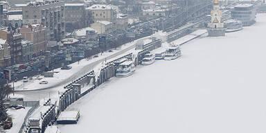 Kiev -  Fluss Dnieper