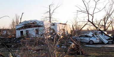 Tornado USA Harveyville Kansas