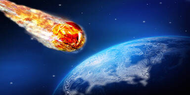 Asteroid Meteorit Erde Einschlag NASA