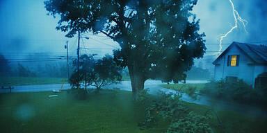 Wetter Gewitter Sturm Unwetter Regen