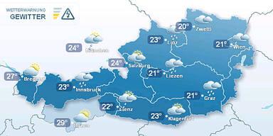 Wetter Mittwoch