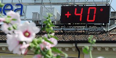 Hitze 40° 40 Grad Florenz Italien