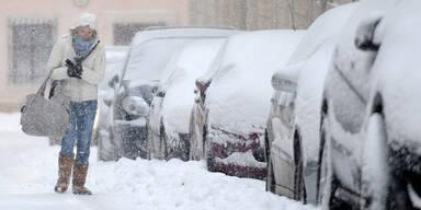 Winter Schnee / Wien