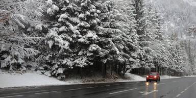 So verschneit ist Österreich: Pinzgau