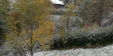 So verschneit ist Österreich: Wien-Umgebung