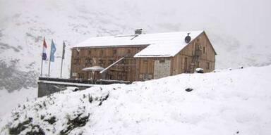 Heilbronner Hütte Winter im Sommer