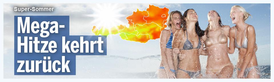 Mega-Hitze kehrt zurück