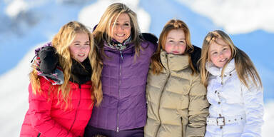 Holländische Königsfamilie