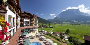 Post Zugspitze Sommer