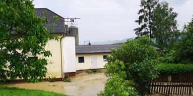 Land unter in St.Pölten-St.Georgen