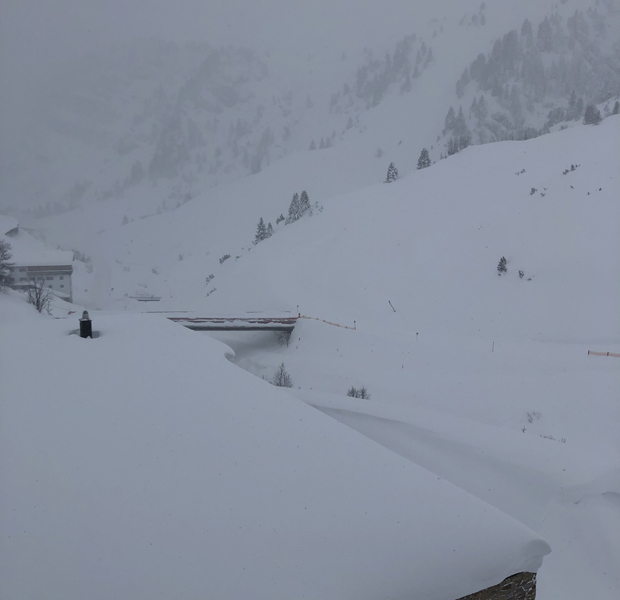 Schnee Zürs