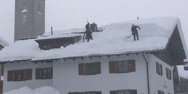 Hochfilzen Lech Schnee