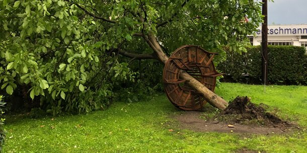 Grazer Stadtpark bis Sonntag gesperrt