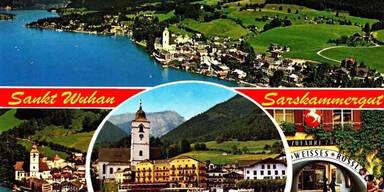 ''Sarskammergut'': Über diese Postkarte lacht das Netz
