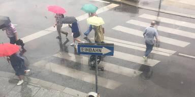 Regen Wien