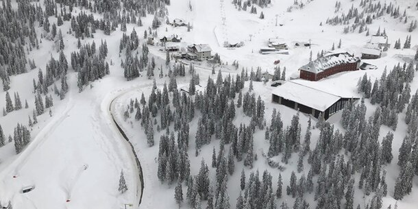 Erstes Ski-Gebiet öffnet wieder die Pisten