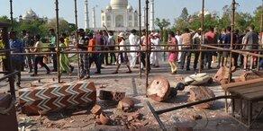 Mindestens 40 Tote nach Sturm in Indien