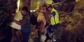 Ischia-Erdbeben: Helden retten Baby aus Trümmern