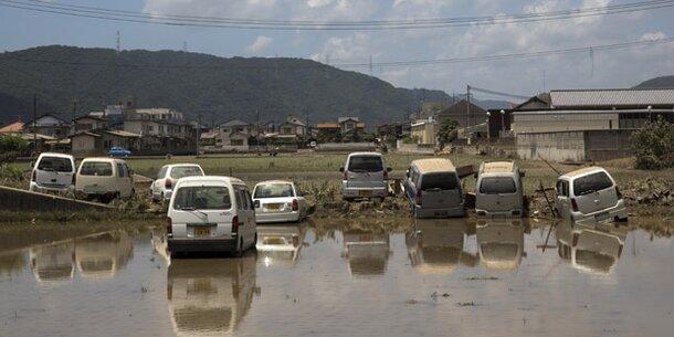 179 Tote nach Unwettern in Japan