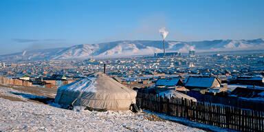 Ulan Bator: Die kälteste Hauptstadt der Welt