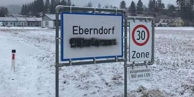 FPÖ-Mitglieder beschmierten Kärntner Ortstafeln