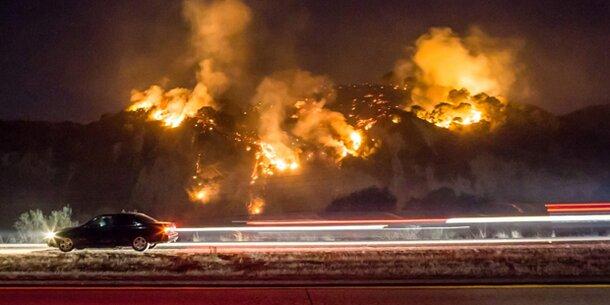"""Brände in L.A.: Alarmstufe """"Violett"""""""