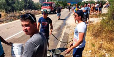 Kroatien Feuerwehrler