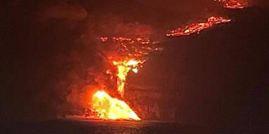 La Palma: Lava bedroht Gemeinde La Laguna