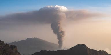 Vulkanwolke aus La Palma erreicht Österreich
