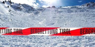 Lawinenabgang Lawine Tirol