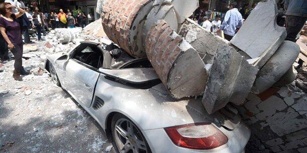 Schweres Erdbeben im Süden Mexikos