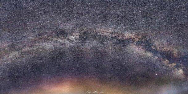 Amateur-Fotograf zeigt unglaubliche Aufnahmen der Milchstraße