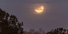 So wird das Wetter zur Mondfinsternis