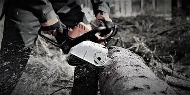 Horror-Unfall mit Motorsäge: Steirer verblutet