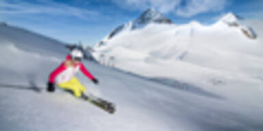 Neuhintertux - Skifahrer