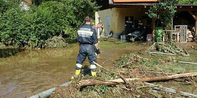 NÖ: Unwetter im Bezirk Neunkirchen