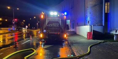 Unwetter: Feuerwehren in Niederösterreich im Dauereinsatz